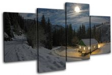Mountain Cabin Landscapes - 13-2210(00B)-MP04-LO